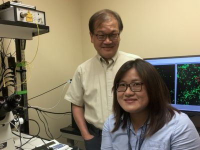 "Researchers Chia-Yi ""Alex"" Kuan and Hong-Ru Chen"